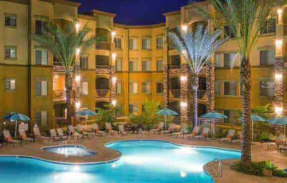 corporate housing phoenix - condo rental swimming pool