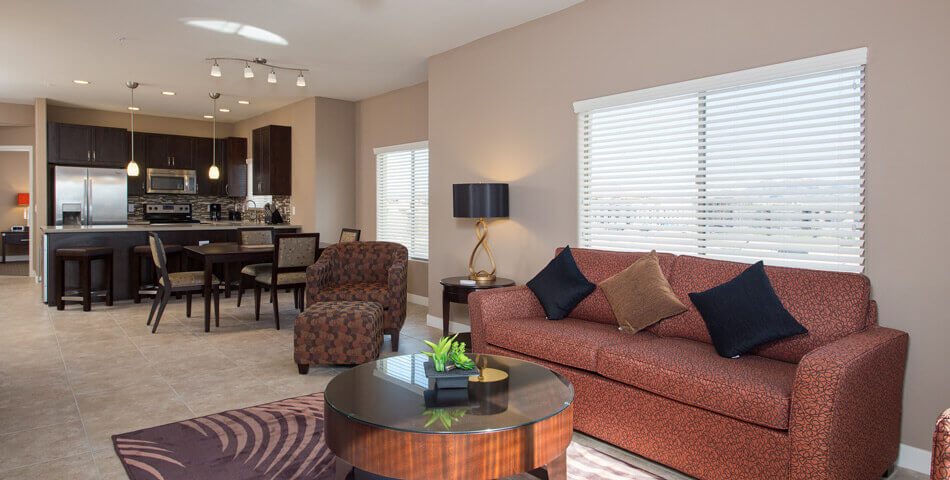 3 Bedroom Condos in Phoenix - living room