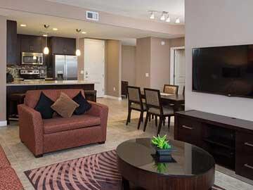 two bedroom condo. Condos for rent in Phoenix  Two Bedroom Condo Toscana Rentals