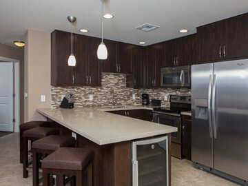 condos for rent in phoenix - kitchen