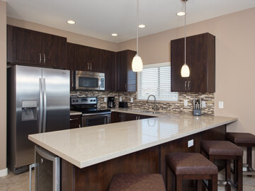 condos for rent in phoenix - calviano kitchen