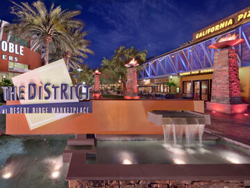 Toscana Condo Rentals - The District entrance