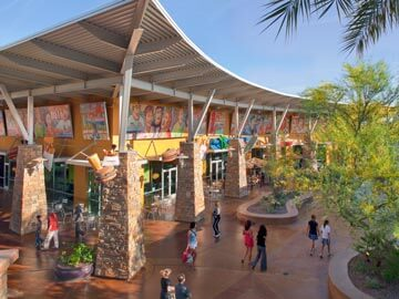 Toscana Condo Rentals - Desert Ridge food court