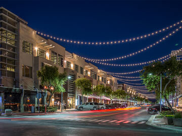 Toscana Condo Rentals - high street night corner