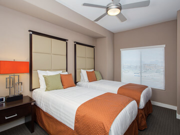 phoenix condo rentals - milano second bedroom