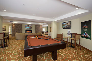 Condo Rentals in Phoenix - pool room