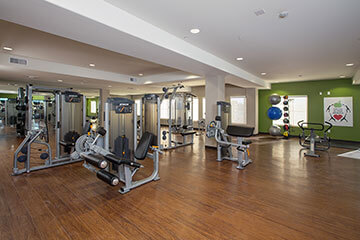 Condo Rentals in Phoenix - fitness room