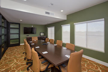 Condo Rentals in Phoenix - board room
